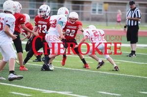Cherokee Elementary & Junior High Football