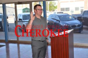 New Cherokee City Council Members sworn in