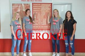 Cherokee athletes break school records